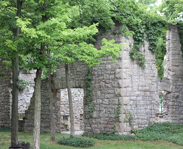 Vin Villa ruins