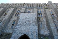Abbaye du Le Mont Saint Michel (Ille-et-Vilaine) (Normandie, France)