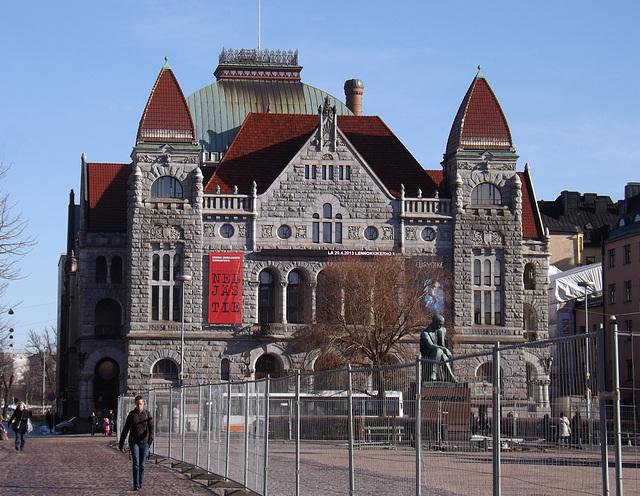 The Finnish National Theatre in Helsinki, April 2013