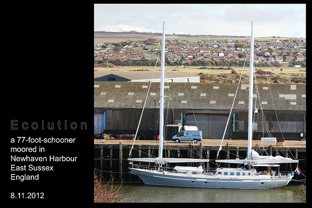 Ecolution 77ft schooner Newhaven 8 11 2012