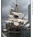 Gotheborg - Swedish tall ship - South Quay, West India Dock, London