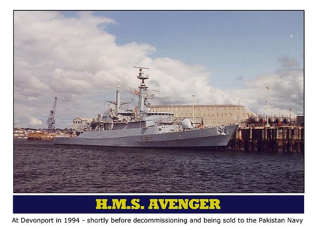 HMS Avenger F185 Devonport 1994