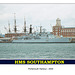 HMS Southampton from Gosport - July 2005