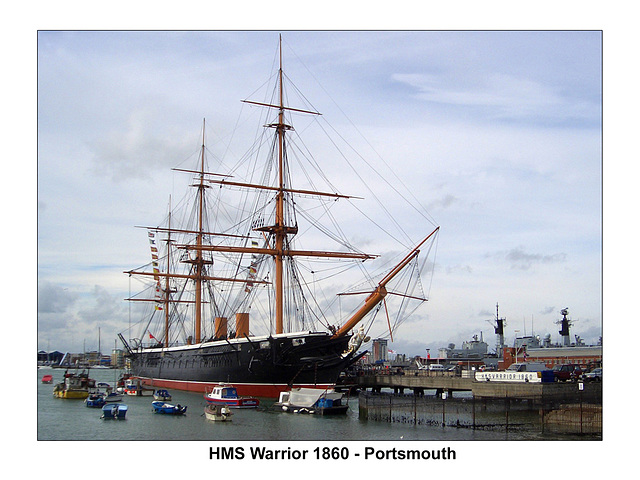 HMS Warrior - Portsmouth - 27.9.2006