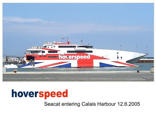 Hoverspeed Seacat Calais  12 6 2005
