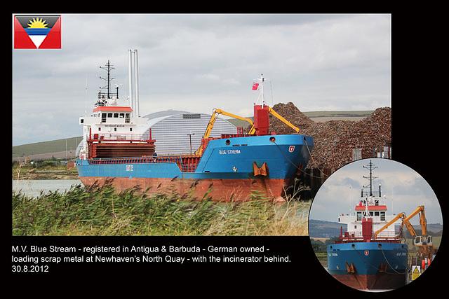 MV Blue Stream Newhaven 30 8 2012