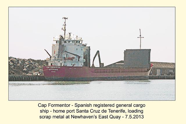MV Cap Fomentor Newhaven 7 5 2013