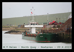 MV Helen Newhaven 22 4 2013