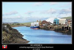 MV Jerome H Newhaven 8 11 2012