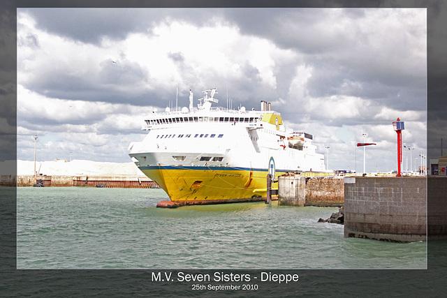 MV Seven Sisters Dieppe 25 9 10