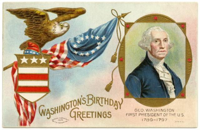 Washington's Birthday Greetings