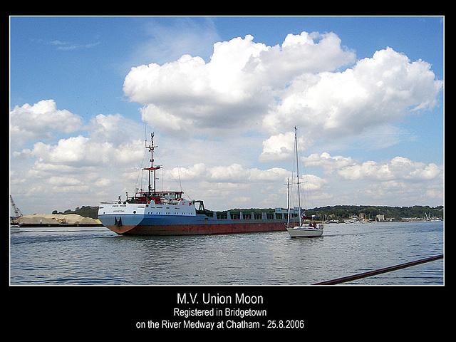 MV Union Moon Chatham 25 8 2006