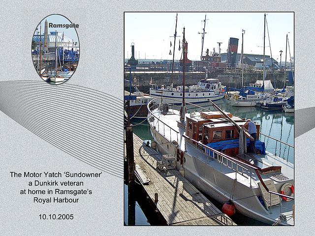 MY Sundowner - Ramsgate - 10.10.2005