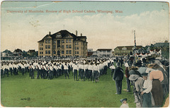 University of Manitoba, Review of High School Cadets, Winnipeg, Man.