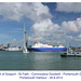 Portsmouth Harbour ferries with Commodore Goodwill in prominence - 28.8.2012