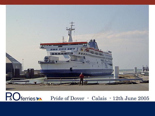 Pride of Dover Calais 12 6 2005
