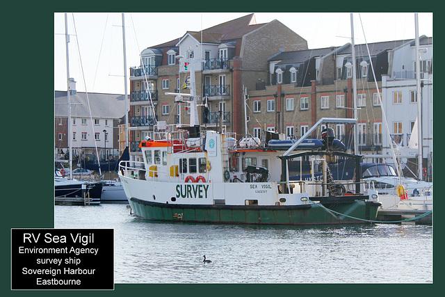 RV Sea Vigil - Eastbourne - 5.1.2012