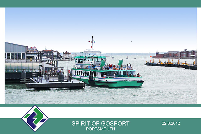 Spirit of Gosport Portsmouth 22 8 2012