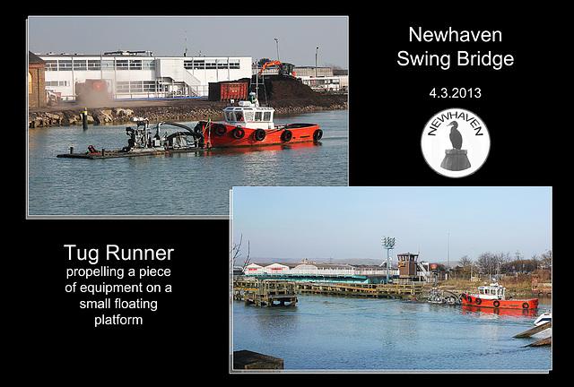 Tug Runner Newhaven Swing Bridge 4 3 2013