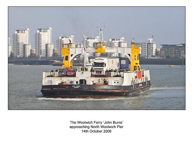 Woolwich Ferry - John Burns - 14.10.2006