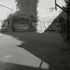Russia, Saint Petersburg, shadow.