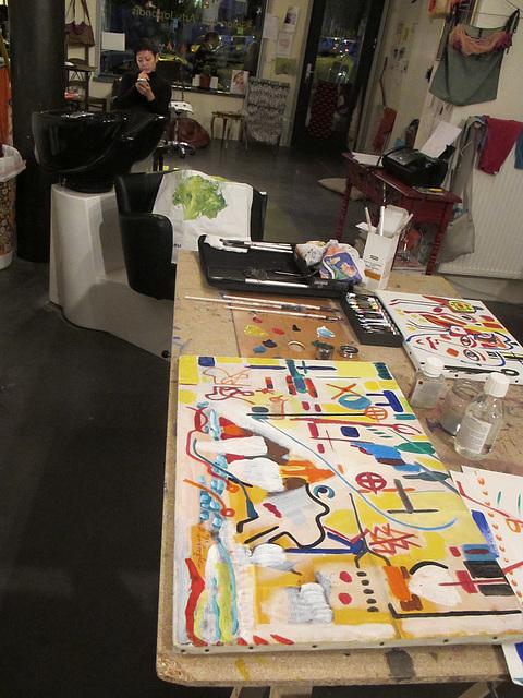 studio de peinture