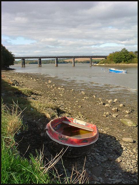 bridge at Tamerton Creek