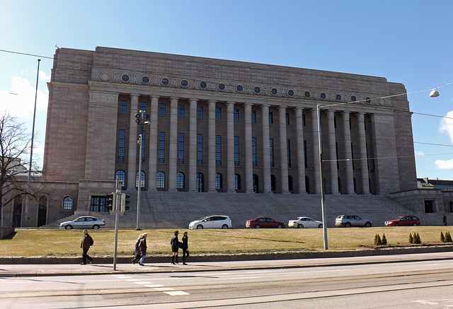 The Parliament of Finland, April 2013