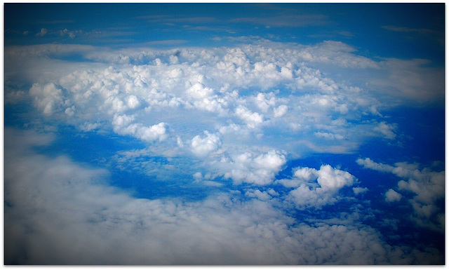 Clouds below your knees