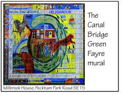 Canal Bridge Green Fayre mural