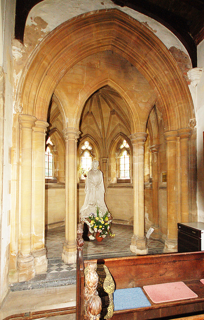 Memorial to Lady Adair, Flixton Church, Suffolk