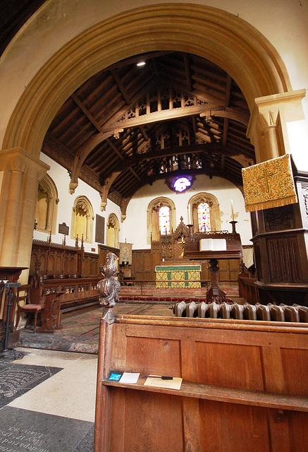Chancel, Flixton Church, Suffolk