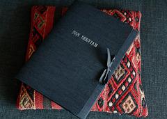 Cloth-covered folder