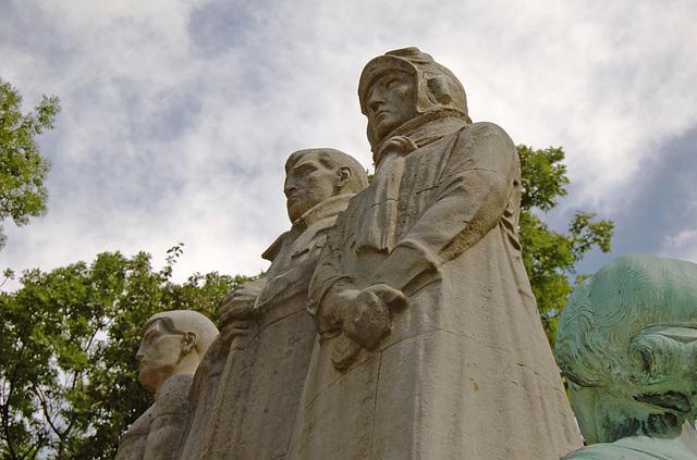 War Memorial,  Townley Hall Park, Burnley, Lancashire