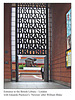 Entrance of British Library with 'Newton'