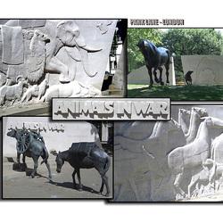 Animals in War - collage 1 - Park Lane - London