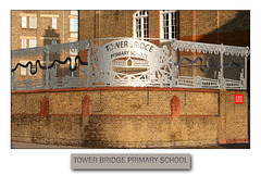 Tower Bridge Primary School captioned