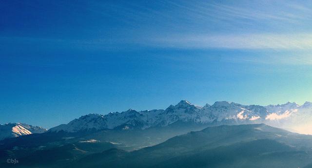 Grenoble et ses montagnes : Belledonne