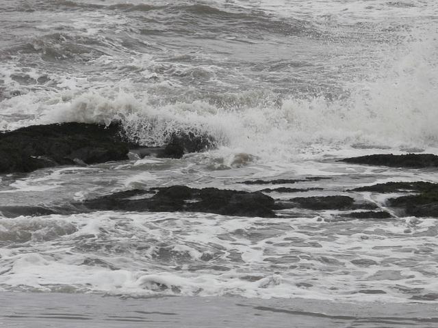 Such a rough sea