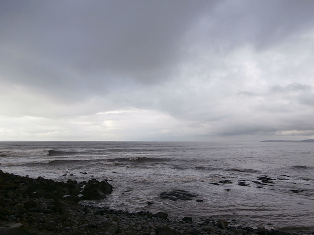 The tide is on it's way in