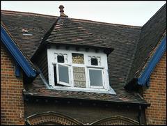 old attic window