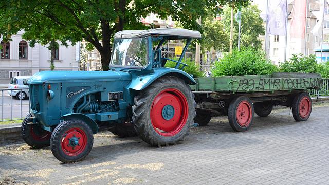 Leipzig 2013 – Granit tractor