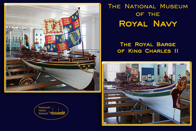 Charles II Royal Barge - 28.8.2012