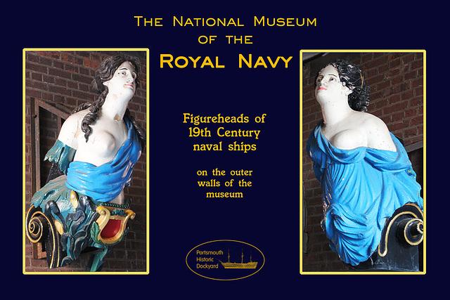RN Museum figureheads 28 8 2012