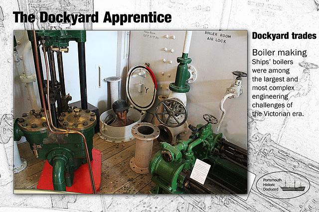 Dockyard Apprentice - boiler making