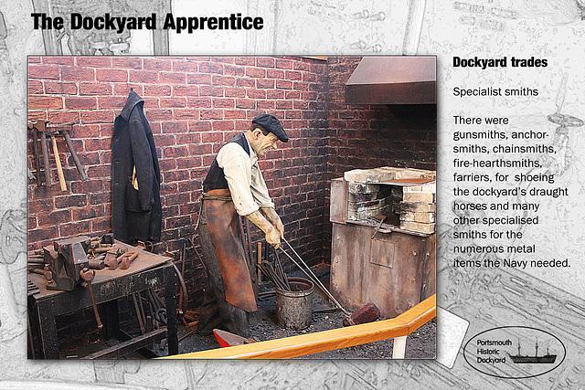 Dockyard apprentice specialist smiths