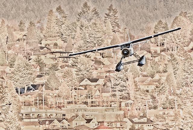 Final Approach - Habour Air Floatplane