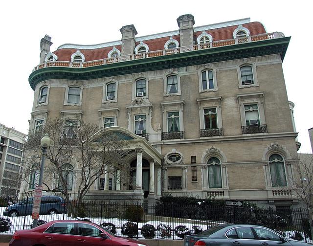 Mansion in Washington DC, January  2011