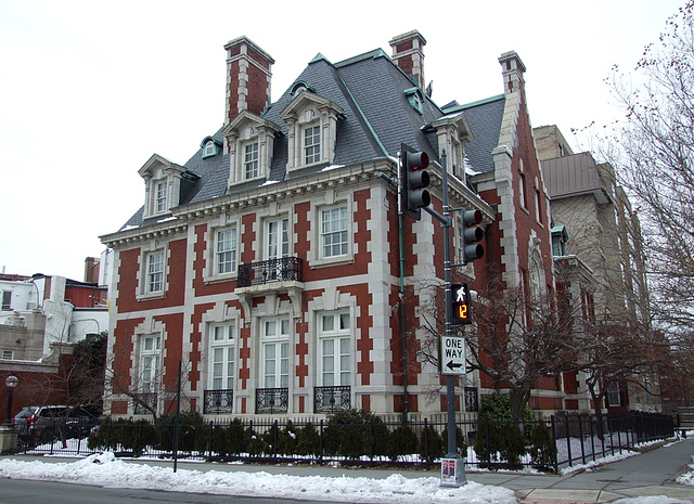 Mansion in Washington DC, January  2011