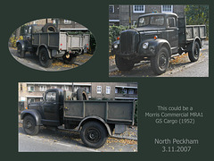 North Peckham truck - 3.11.2007